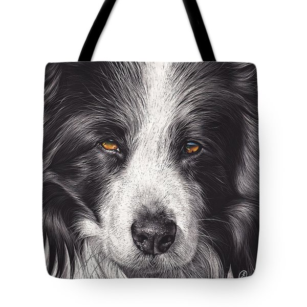 Loyal Companion Tote Bag by Elena Kolotusha