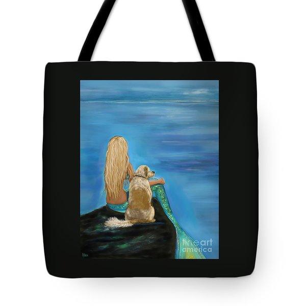 Loyal Mermaids Friend Tote Bag