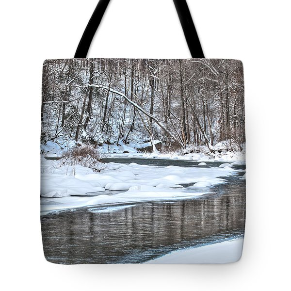 Tote Bag featuring the photograph Loyalhanna Creek - Wat0100 by G L Sarti