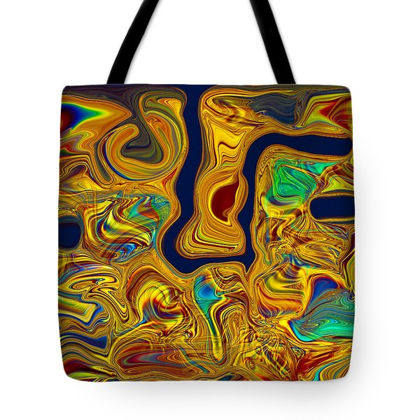 Tote Bag featuring the painting LSD by Omaste Witkowski