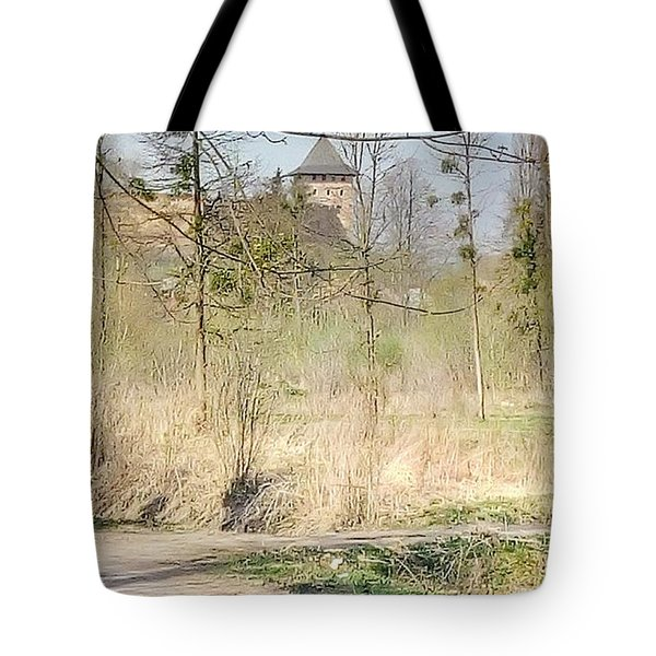 Lubart Castle Tote Bag