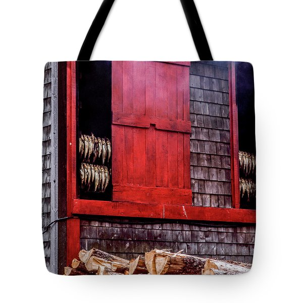 Lubec Smokehouse Tote Bag