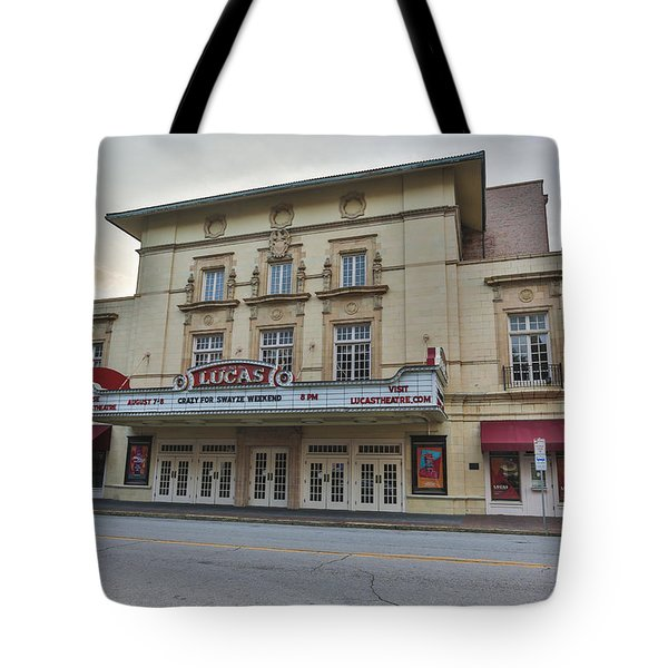Lucas Theatre Savannah Ga Tote Bag