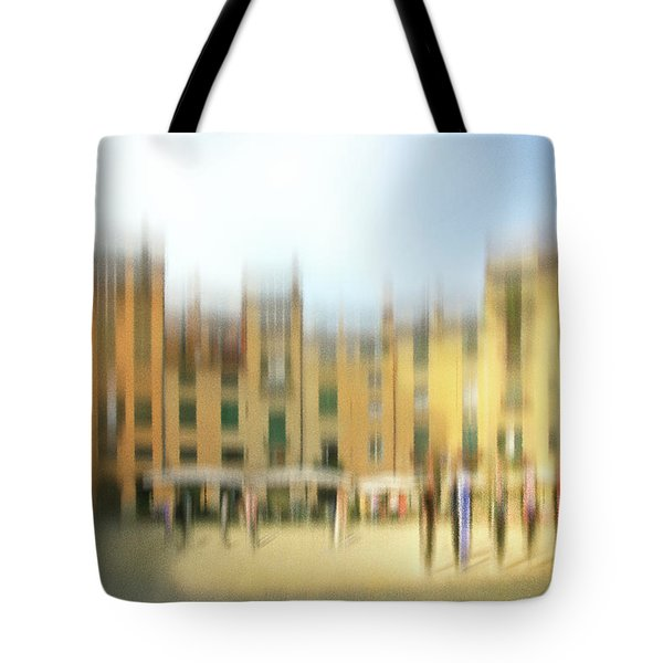 Lucca Ampitheatre Impression 1 Tote Bag by Marty Garland