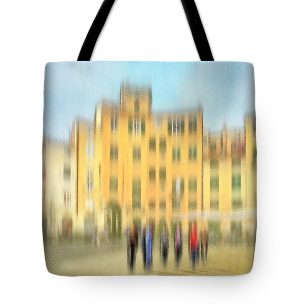 Lucca Ampitheatre Impression 2 Tote Bag by Marty Garland