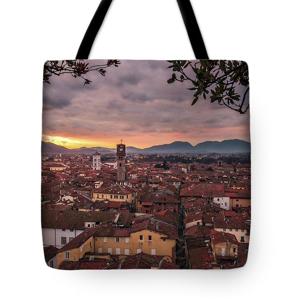 Lucca In Tuscany Tote Bag