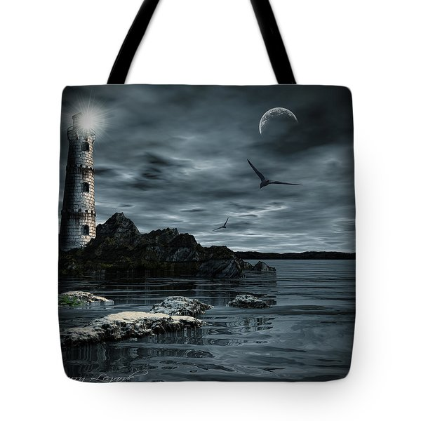 Lucent Dimness Tote Bag by Lourry Legarde