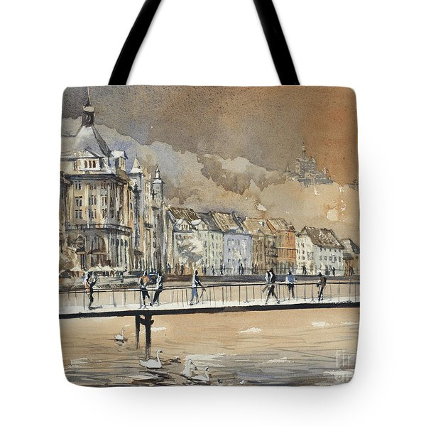 Lucerne Downtown- Switzerland Tote Bag