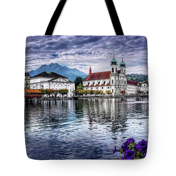 Lucerne In Switzerland  Tote Bag