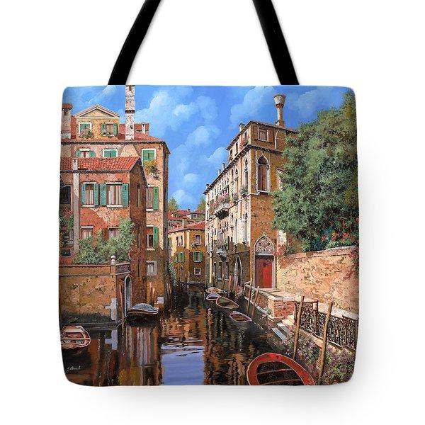 Luci A Venezia Tote Bag by Guido Borelli