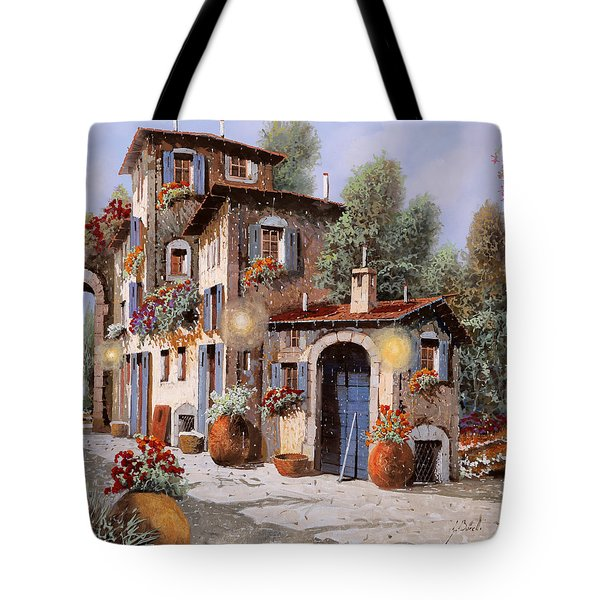 Luci All'entrata Tote Bag