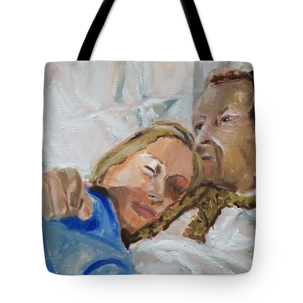 Lucian And Kate I Tote Bag by Bachmors Artist