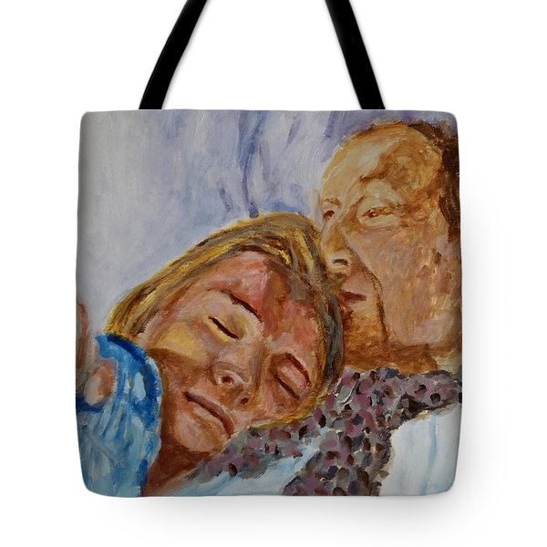 Lucian And Kate IIi Tote Bag by Bachmors Artist