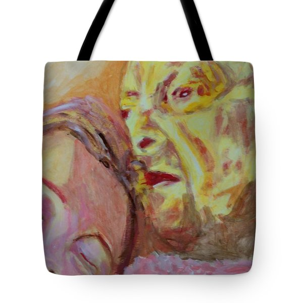 Lucian And Kate V Tote Bag by Bachmors Artist