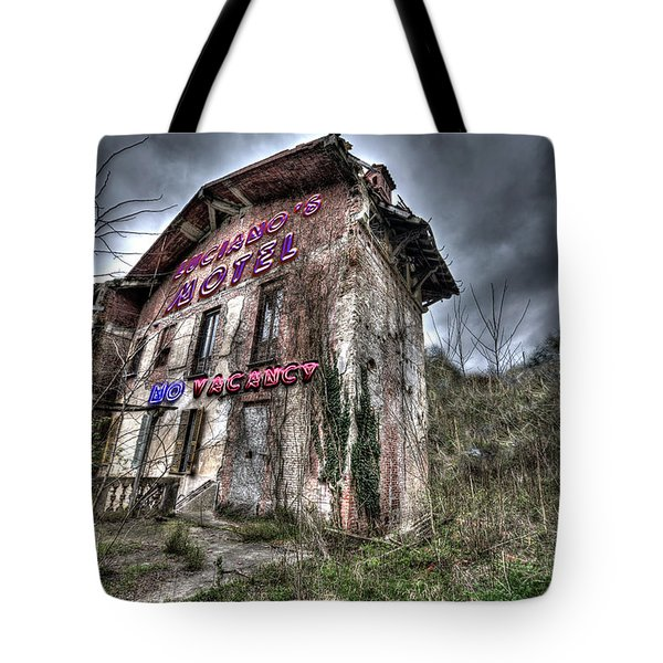 Tote Bag featuring the photograph Luciano's Motel by Enrico Pelos