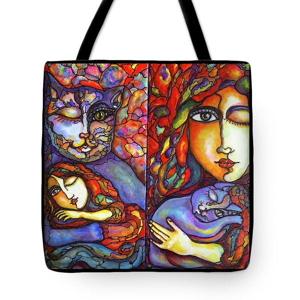 Lucid Dreams Tote Bag by Rae Chichilnitsky