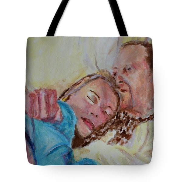 Lucien And Kate II Tote Bag by Bachmors Artist
