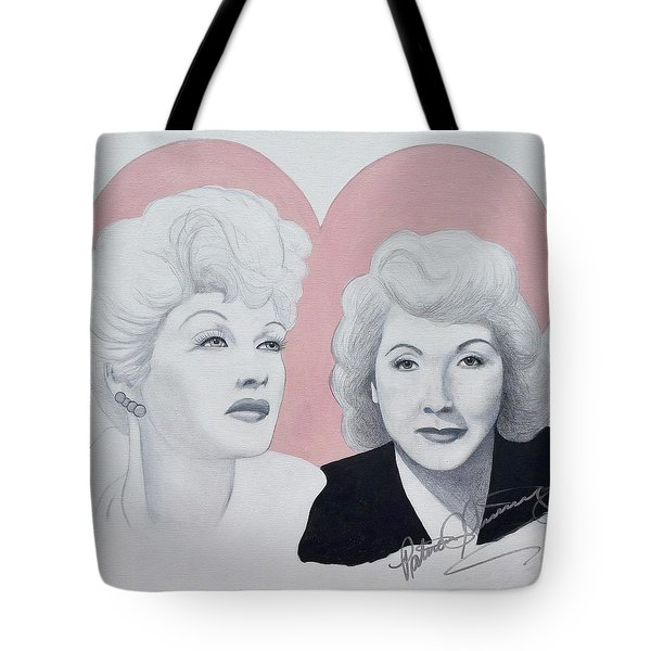 Lucille And Vivian Tote Bag
