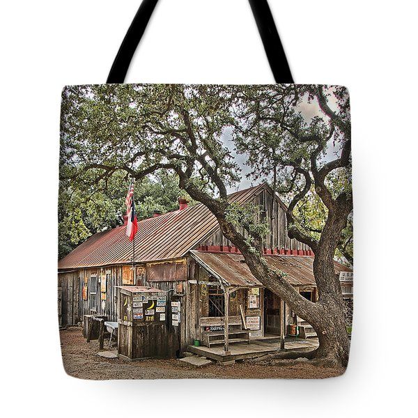 Luckenbach Post Office And General Store_1 Tote Bag