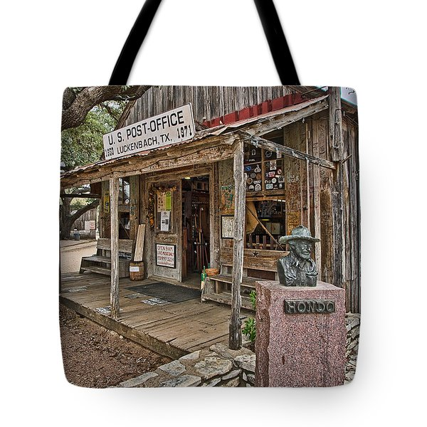 Luckenbach Post Office And General Store_2 Tote Bag