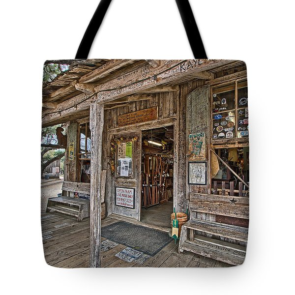 Luckenbach Post Office And General Store_4 Tote Bag