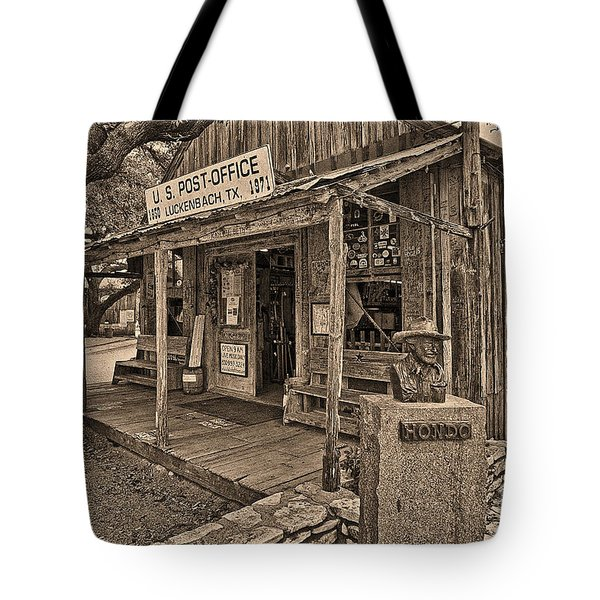 Luckenbach, Tx Post Office Tote Bag