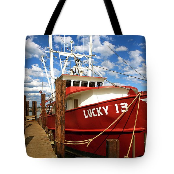 Lucky 13 At Long Beach Island Tote Bag