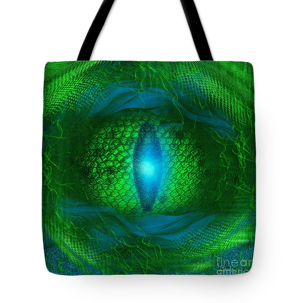 Lucky Dragon's Eye - Abstract Art By Giada Rossi Tote Bag