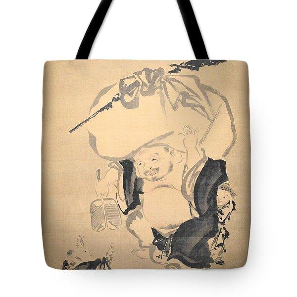 Lucky Gods Hotei Tote Bag