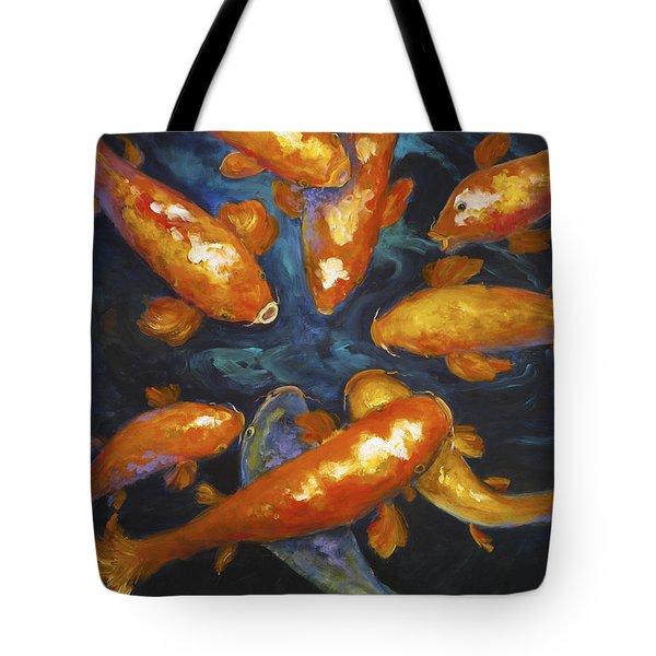 Lucky Koi Tote Bag