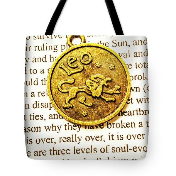 Lucky Leo Charms Tote Bag