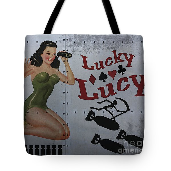 Lucky Lucy Noseart Tote Bag by Cinema Photography