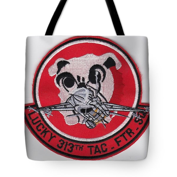 Lucky Puppy Tote Bag