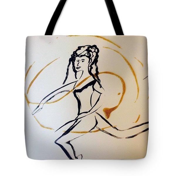 Lucky Spell Tote Bag by Judith Desrosiers