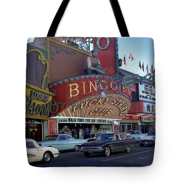 Lucky Strike Club, Las Vegas Tote Bag