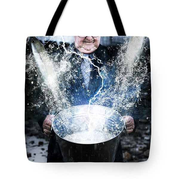 Tote Bag featuring the photograph Lucky Strike by Jorgo Photography - Wall Art Gallery