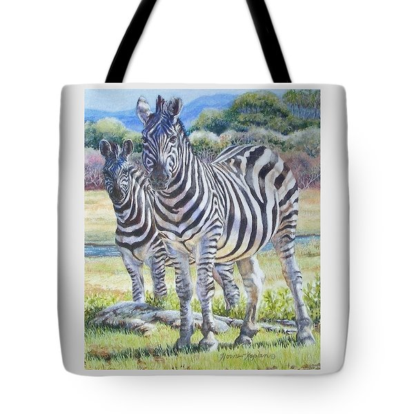 Lucky Stripes Tote Bag