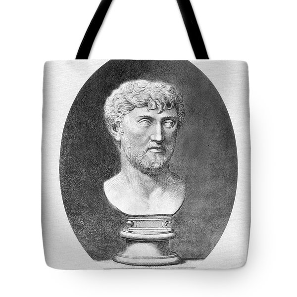 Lucretius (96 B.c.?-55 B.c.) Tote Bag by Granger