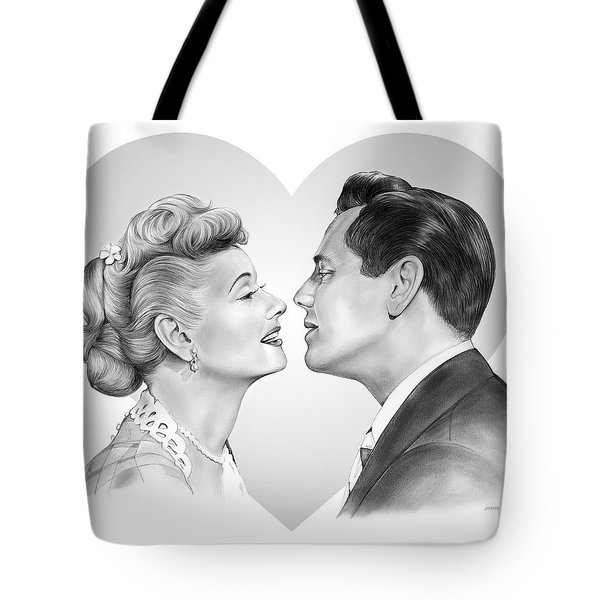 Lucy And Desi Tote Bag