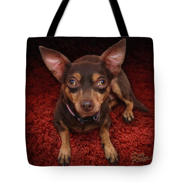 Lucy Tote Bag by Doug Kreuger