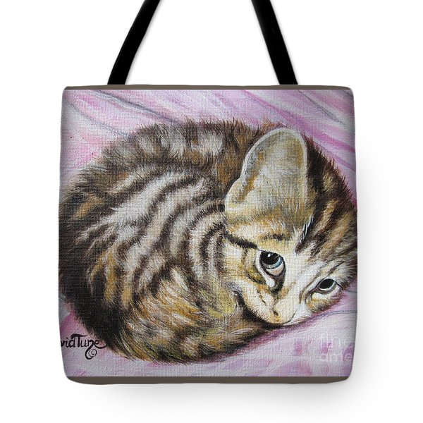 Lucy Girl Tote Bag