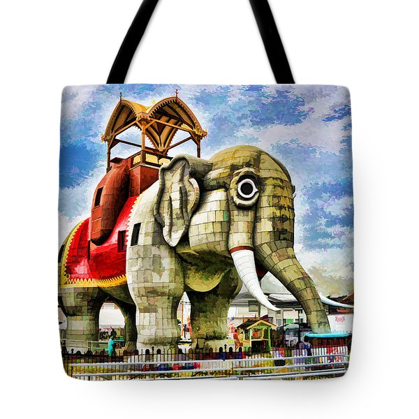 Lucy The Elephant 2 Tote Bag