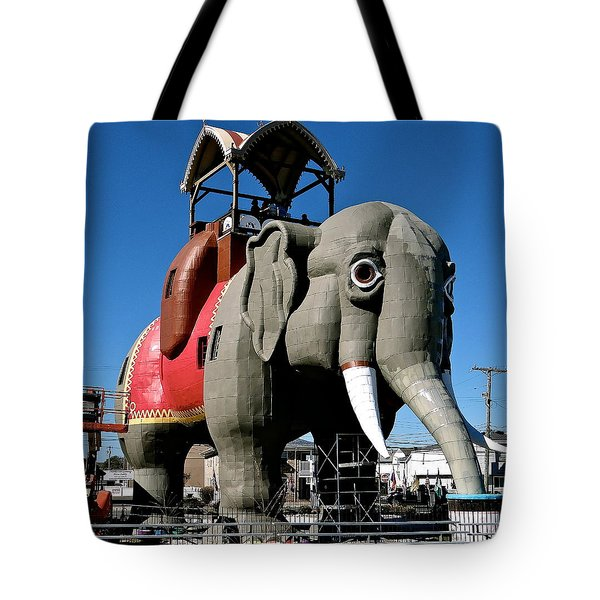 Lucy The Elephant Tote Bag