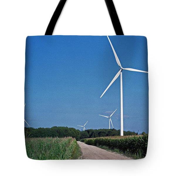 Ludington Wind Farm Tote Bag