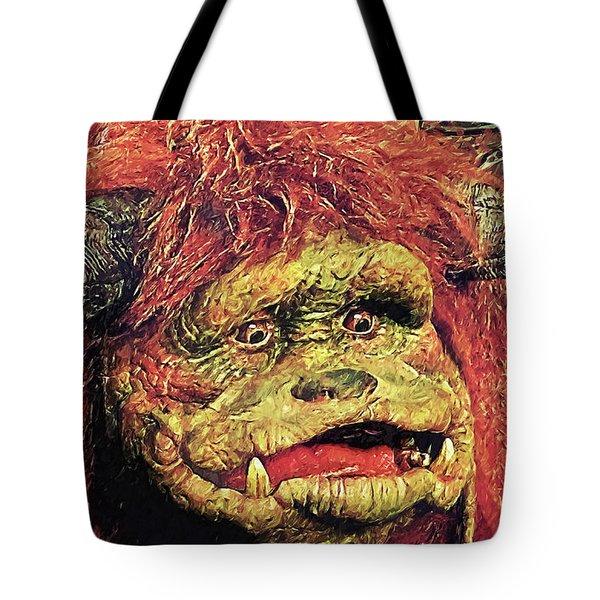 Tote Bag featuring the digital art Ludo - Labyrinth by Taylan Apukovska