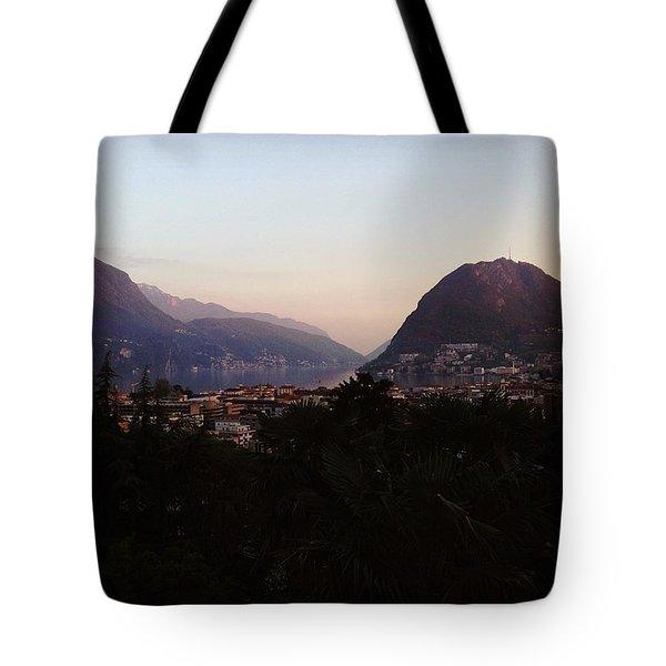 Lugano - Switzerland Tote Bag