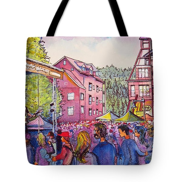 Lukas Nelson And Promise Of The Real Tote Bag by David Sockrider