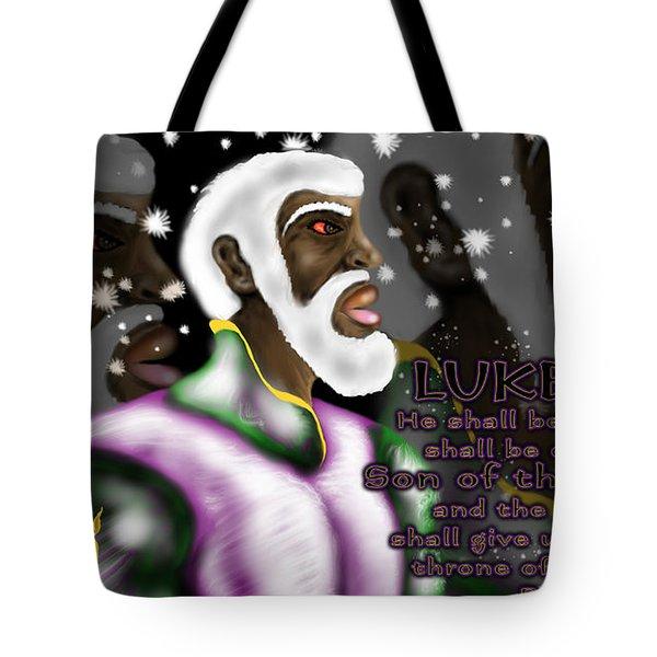 Luke 1.32 S.o.t.m.h Tote Bag