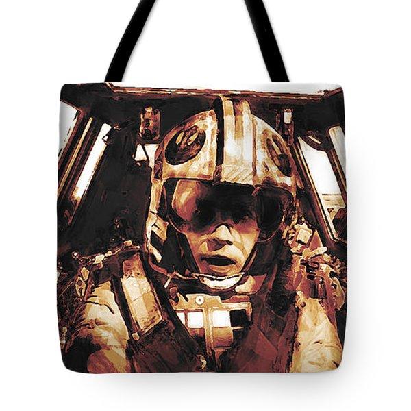 Luke Snowalker Tote Bag