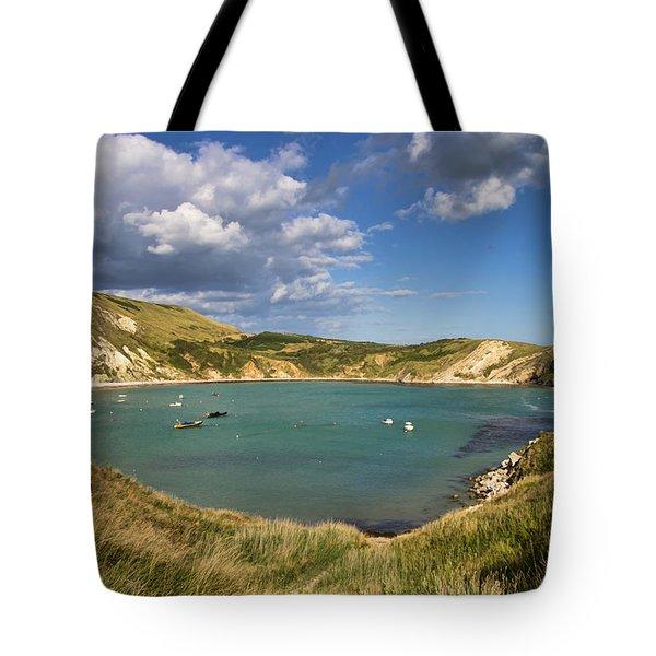 Lulworth Cove Dorset Tote Bag